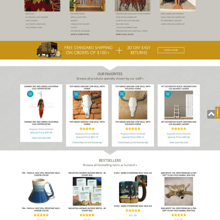 Sunland Home Decor - Google Premium: Digital Marketing Agency USA